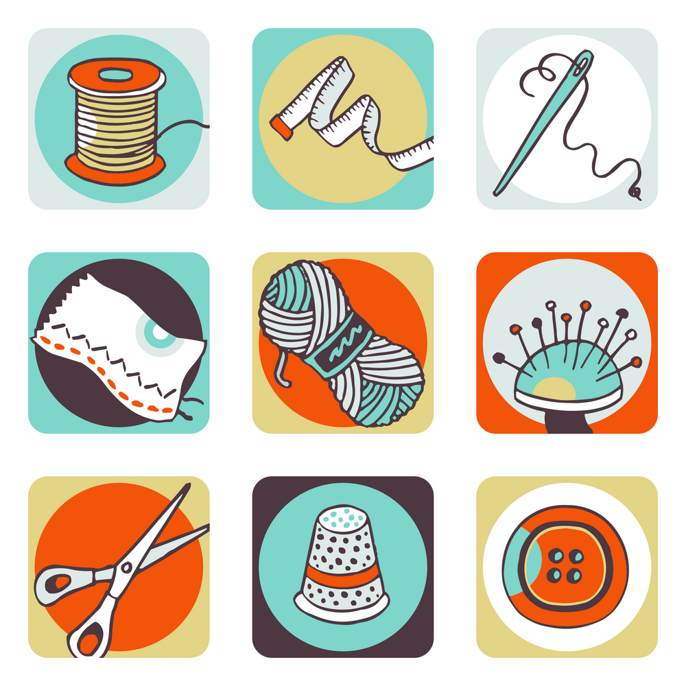 sewing objects